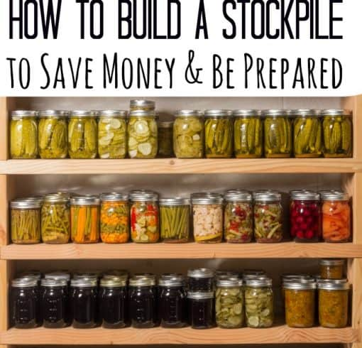 Emergency Preparation – How to Build a Stockpile