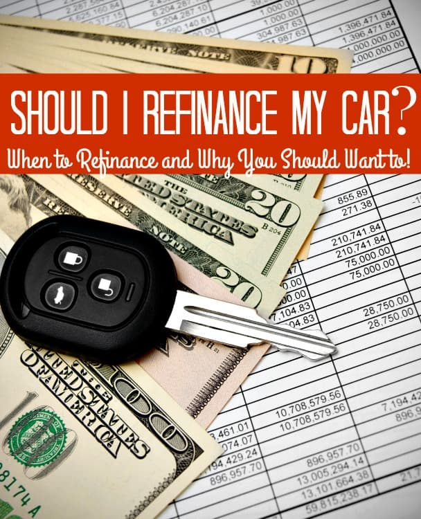 When Should You Refinance Your Car Loan? - Wondering if you should refinance your car loan? I'll tell you when the best time to do so is, why you might want to and give you tips for getting it done right!