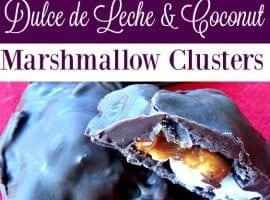 Dulce de Leche and Coconut Marshmallow Clusters