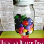 Dollar Tree Crafts – DIY Upcycled Candy Jar