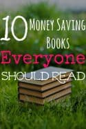 10 Money Saving Books Everyone Should Read
