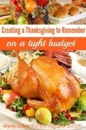 Creating a Thanksgiving to Remember on a Budget