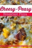 Cheesy-Peasy Breakfast Pizza Recipe!