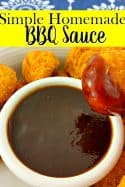 Simple Homemade BBQ Sauce Recipe
