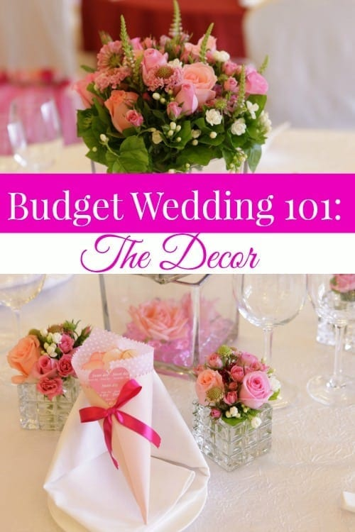 Part 2 of our Budget Wedding 101 series shows you how to have the decor you want for less! There's no reason to sacrifice beautiful decor! Instead, use these tips to save!