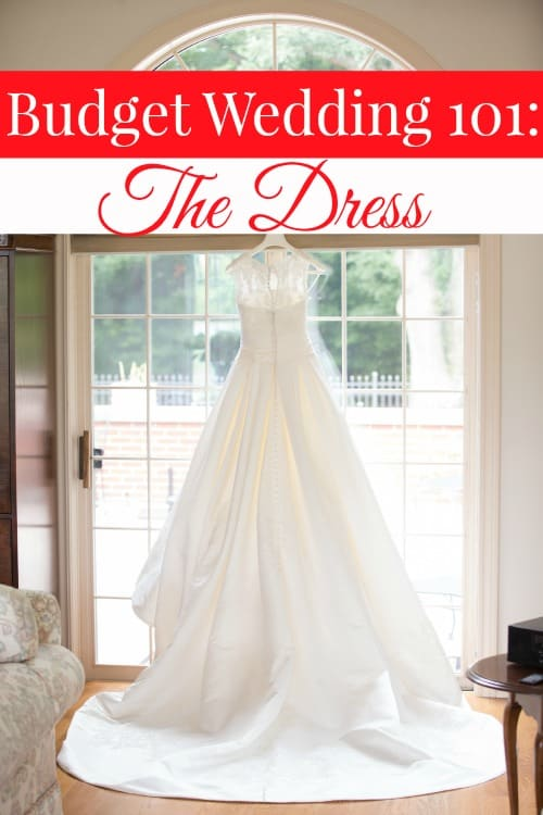 Getting married doesn't have to be a budget buster! In this Budget Wedding 101 post, I'll show you how to save big on one of the most important aspects of your ceremony. The dress!