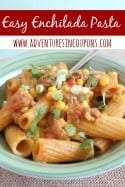 Easy Enchilada Pasta – Quick and Tasty Dinner Recipe!