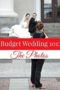 Budget Wedding 101: Saving on the Photos