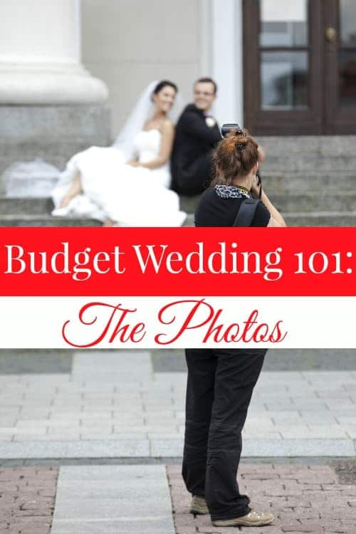 Post #3 of the Budget Wedding 101 series talks about your wedding photos! Have the stunning photos you want on a budget you can afford!