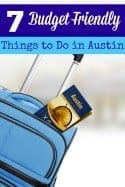7 Budget Friendly Things to Do in Austin