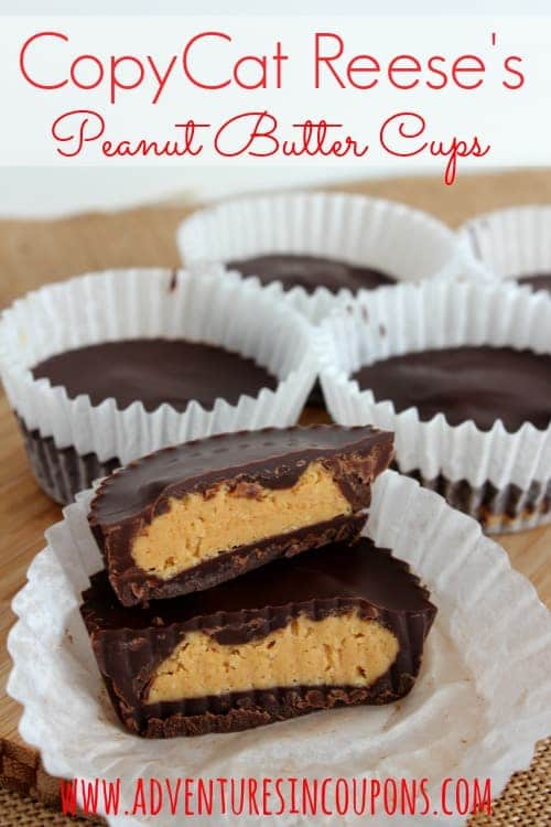 Reese's lovers unite! These copycat Reese's Peanut Butter cups are just like the real thing! Sweet, creamy and pure peanut butter perfection!