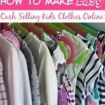 How to Make Easy Cash Selling Kids Clothes Online