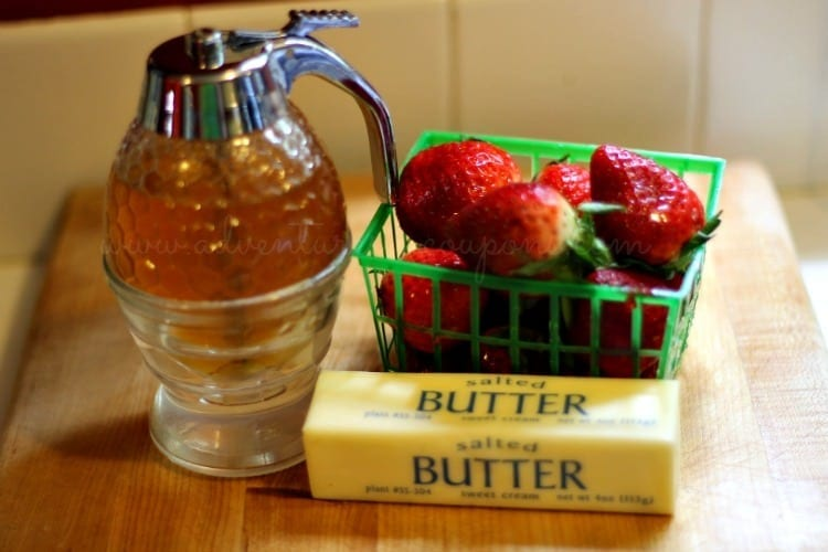 Strawberry lovers will adore this Easy No Fail Strawberry Butter Spread recipe! With just 3 ingredients, it's perfect on toast, bagels and more!