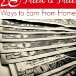 Earn Free Gift Cards and Cash with these 15 Ways to Earn From Home