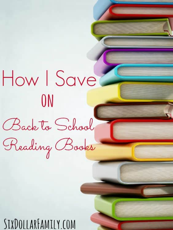 Kids books can be so expensive, but now? I'm saving more than I'm spending! Check out how I save on Back to School Reading and you could be saving too!