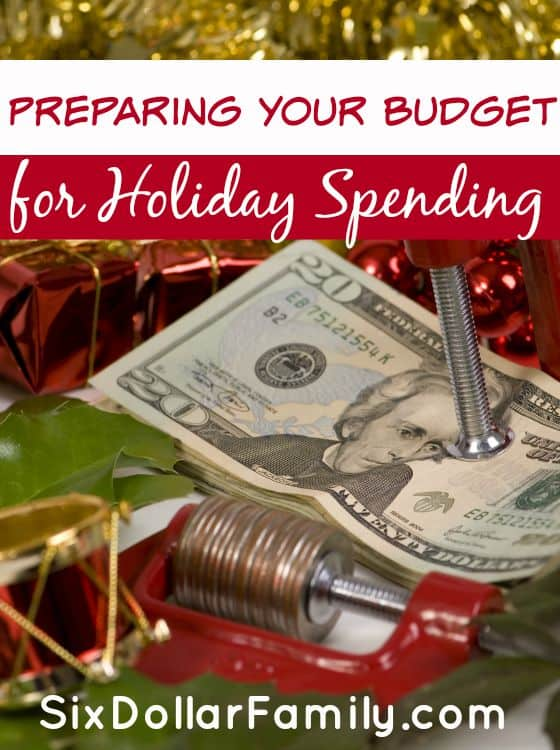 "The holidays might still be weeks away, but your budget needs to be looking at them now! Preparing your budget for holiday spending is one of the most important things you can do to prepare for the ""Most wonderful time of the year!"""