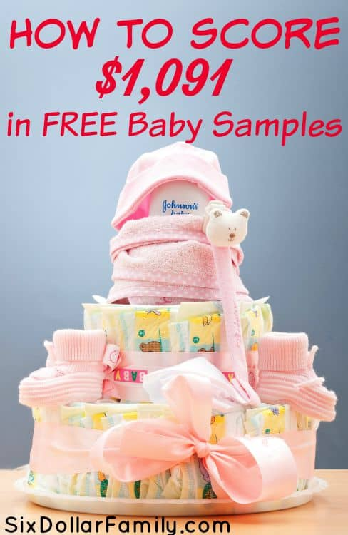 How to Get Free Samples for Baby - Huge List of Free Baby