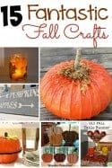 15 Fantastic Crafts for Fall