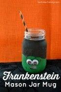 Frankenstein Mason Jar Mug