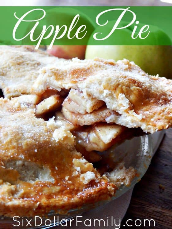 This delicious homemade apple pie recipe is perfect warm served ala mode or chilled without! The secret is in the crust!