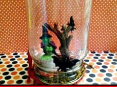 Easy Mason Jar Halloween Decor