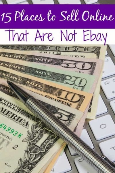 Love Ebay? Me too, but it is so expensive for selling! That's not an issue though with these awesome sites! These 15 places to sell online that are not Ebay are all awesome and much more budget friendly!