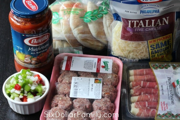 Italian-Pita-Pocket-Recipe-Ingredients