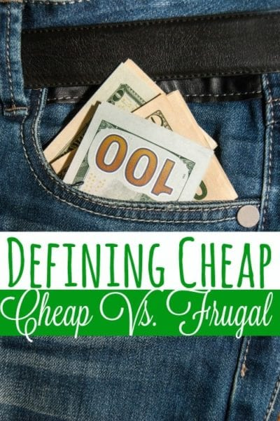 Do you know the difference between cheap and frugal? You might be surprised to know that NOT knowing the difference can cost you money!