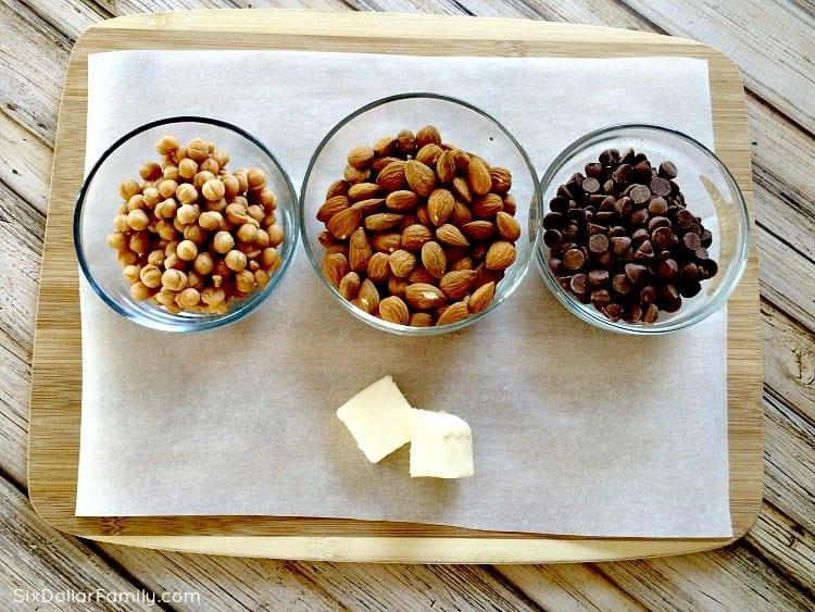 homemade-almond-turtles-ingredients
