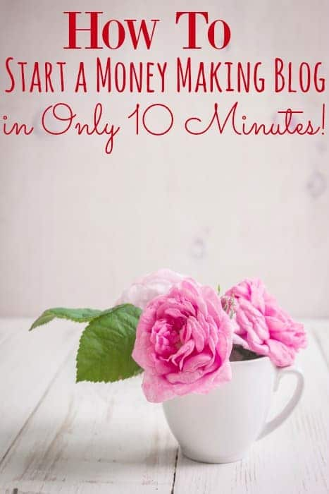 Have you ever wanted to start your own blog? How about earning extra money as a blogger? You can with just 3 easy steps and 10 minutes! You could be blogging today!