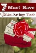 7 Must Have Christmas Savings Tools