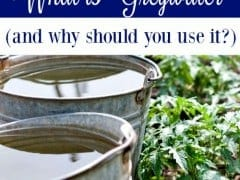 What is Greywater (and Why Should You Use It?)