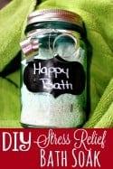 DIY Stress Relief Bath Soak