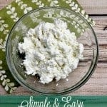 Simple and Easy Homemade Ricotta Cheese