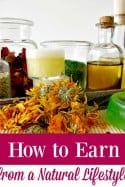 "How to Make Extra Income from a Natural Lifestyle or Homestead - Finding ways to make extra money isn't always easy...especially if you life a simple life or the life of a homesteader. It may be right at your fingertips though and you're just not seeing it! This is one post that ANYONE who makes things at home, grows things or just generally lives a bit ""crunchy"" needs to read!"