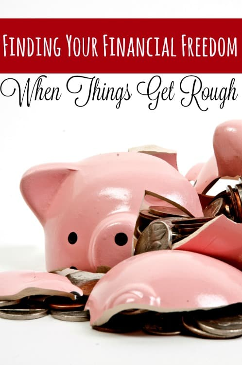 Finding Financial Freedom can be tough if money is tight and the bills are due, but don't sweat it! There IS a light at the end of the tunnel!