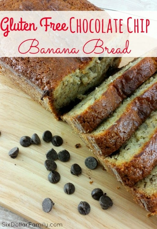 Banana Bread is a classic and this gluten free banana bread recipe is sure to become one of your favorites! It's easy to make, won't trigger a gluten sensitivity and has that classic banana bread taste that you've always loved so much!