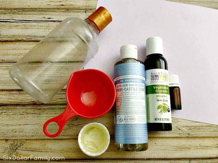 homemade-body-wash-ingredients