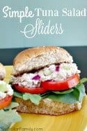 Simple Tuna Salad Sliders Recipe