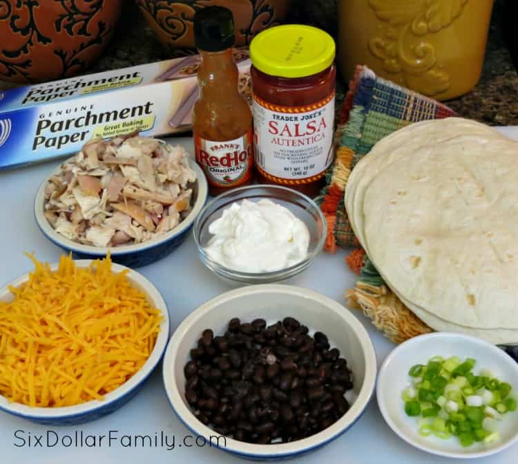 chicken-black-bean-taquitos-ingredients