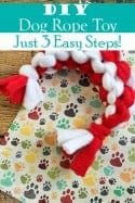 Fido Needs Some Love Too! How to Make an Easy DIY Dog Rope Toy