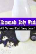 DIY Body Wash (Earl Grey Scented) - If you love Earl Grey tea, this natural body wash is right up your alley! Bergamot and Lavender oils come together with the other ingredients to create a perfectly scented, silky smooth homemade body wash that is perfect for anyone!