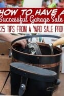 Garage Sale Tips –  How to Have a Successful Garage Sale