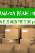 Grocery Savings – Amazon Prime & How to Use it to Save Money on Groceries