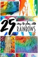 25 Kids Rainbow Crafts & Activities for Rainy Day Boredom Busters