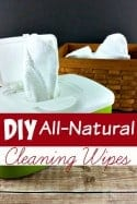 These Homemade Cleaning Wipes are Simply the Best!