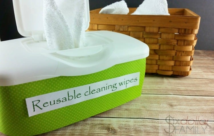 How To Make Homemade Cleaning Wipes Zero Waste Cleaning