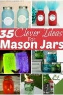 35 Cleverly Brilliant Mason Jar Craft Ideas