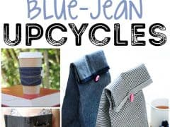 25 Brilliant Upcycled Denim Projects