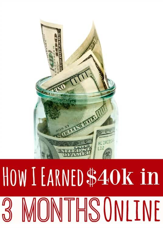 I've earned $50,000+ this year so far. $40k of that was in the first 3 months. No gimmicks, no scams, just pure hard work...without EVER leaving my home! Now? I'm going to show you how to do it too! (Hint: It's NOT all blogging!)